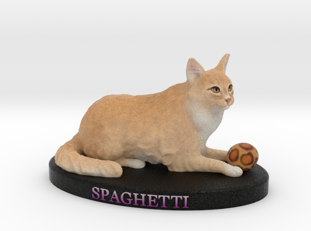 Custom Cat Figurine - Spaghetti