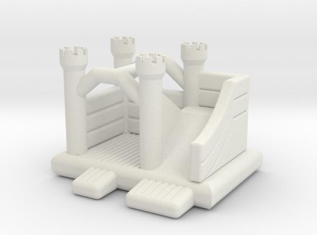 Hüpfburg 3 - 1:220 (Z scale) in White Natural Versatile Plastic
