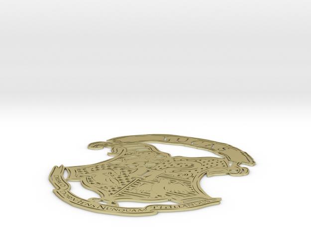 Lauren Hogwarts crest full 3d printed
