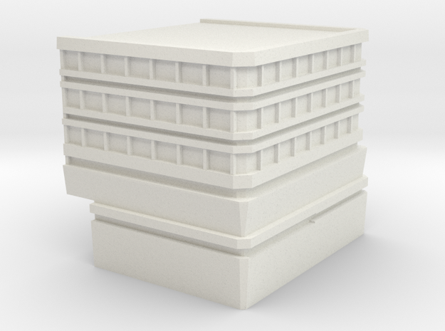 Hospital: Modular Right in White Strong & Flexible