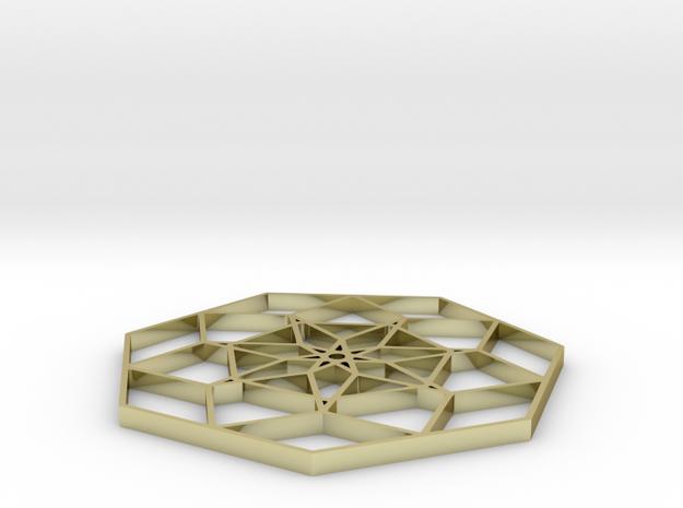 Geoform Twenty - 2 inch 3d printed