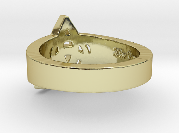 """""""Charmed"""" Inspired Ring - Size 8 Ring Size 8 3d printed"""