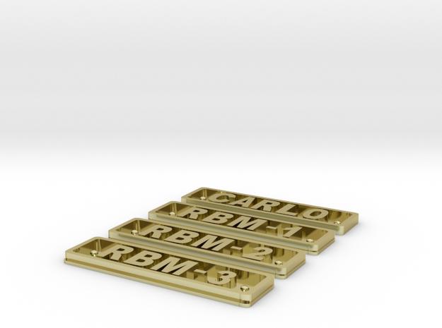 rbm 1-3 3d printed