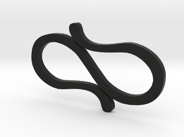 Simple S-Clips  in Black Strong & Flexible