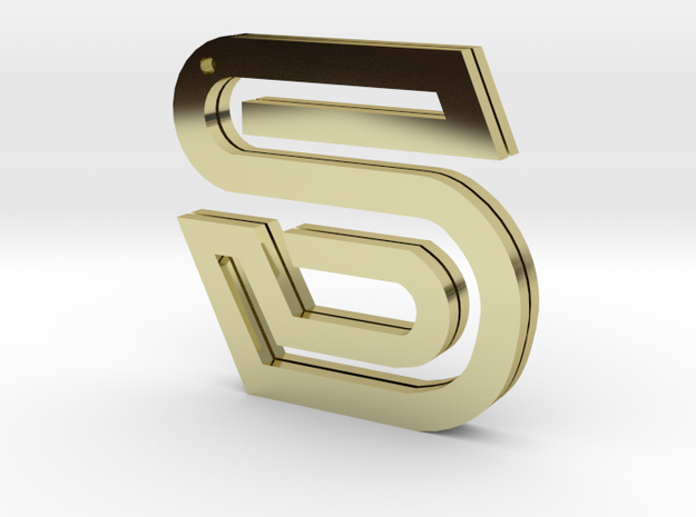 accessories - the letter S 3d printed