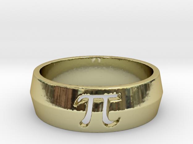 PI Ring Design Ring Size 10 3d printed