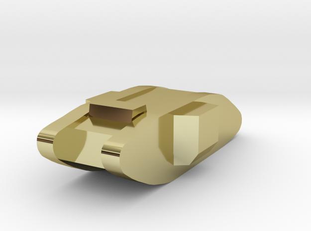 British Mk IV Tank 3d printed