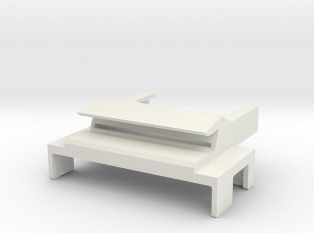SP3 USB Duct 2.0 in White Natural Versatile Plastic