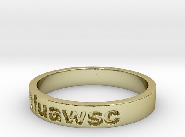 stfuawsc Ring Size 11.5 3d printed