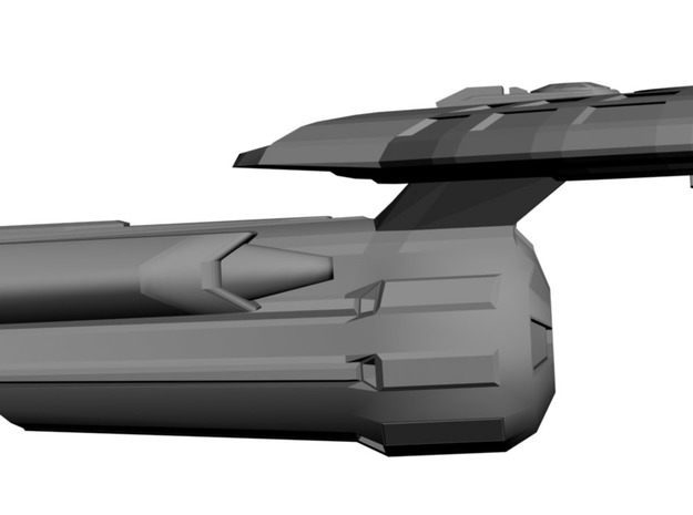 USS Caliban 3d printed