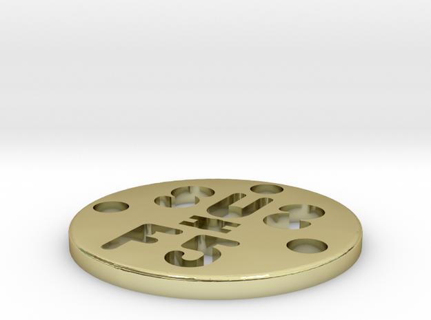 SUS Disc 28mm 3d printed