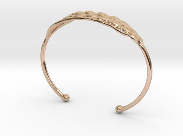 Wheat Bracelet all sizes 3d printed