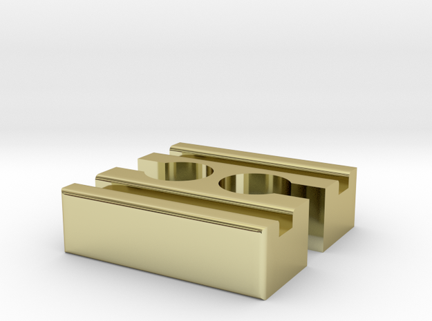 Brio F-F Connector 40mm With Marking 3d printed