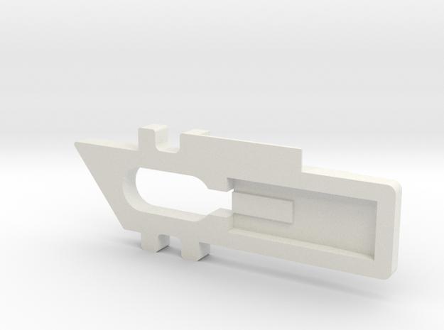 Window Lock in White Strong & Flexible