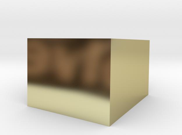 Sunken_cube_15x15 3d printed