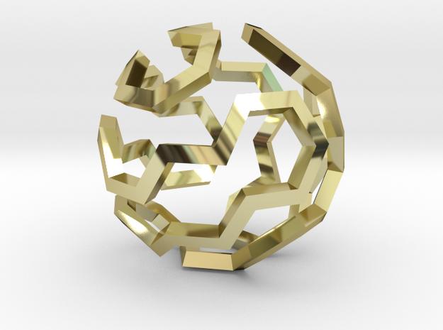 Hamilton Cycle on Soccer Ball (Small) 3d printed