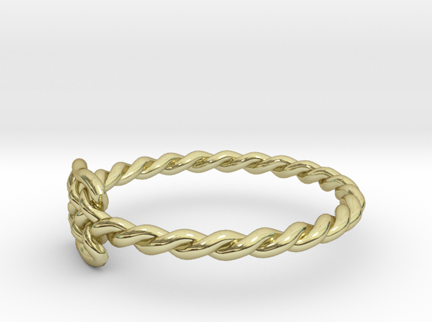 Celtic Ring - Size 7 3d printed