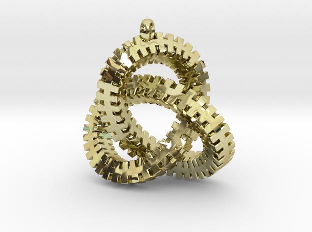 Escher Knot Pendant
