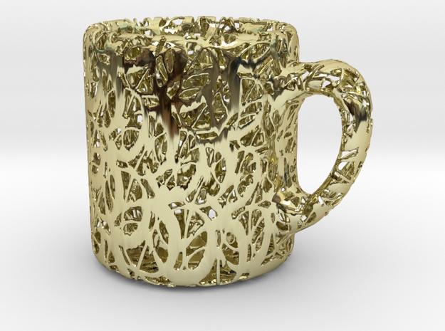 Coffee Filigree - Sculpture 3d printed