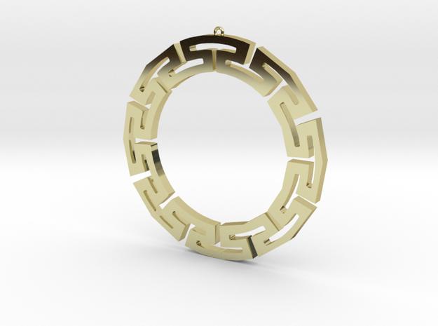 Greek Theme 1 Earrings 3d printed