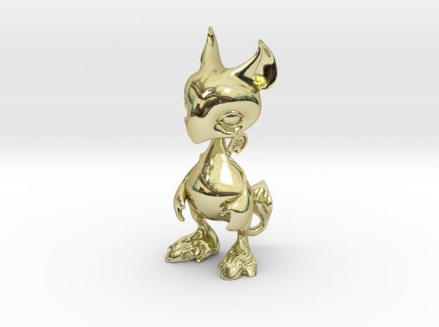 Baby Gryphon figurine 60mm 3d printed