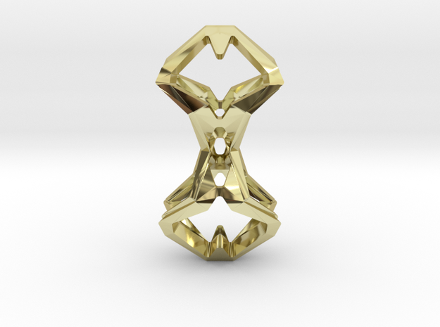 """""""head to head, heart to heart"""" TIMELESS, pendant 3d printed"""