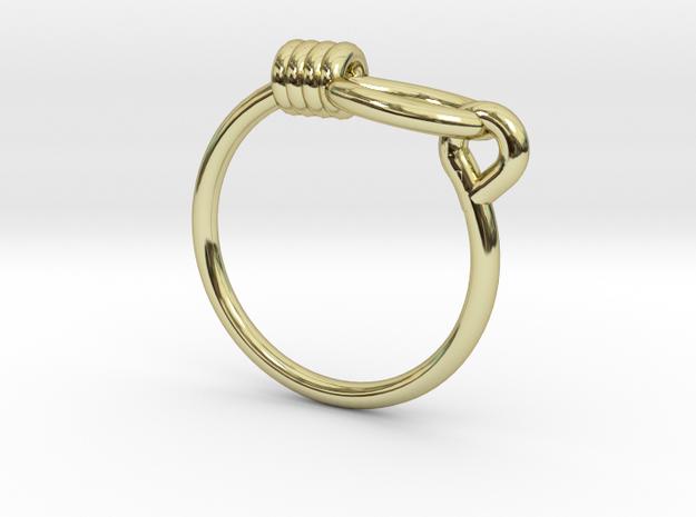 Noose Ring - Sz. 9