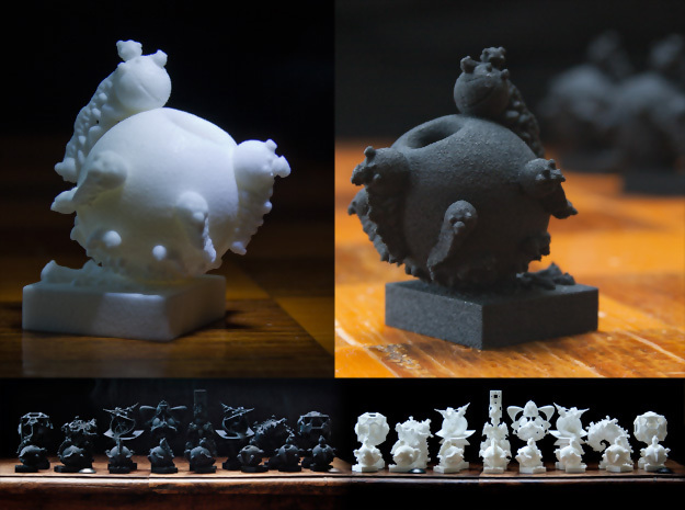 Surreal Chess Set - My Masterpieces - The Pawn