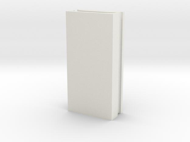 Biegehilfe für Maxikraft Turmblech in White Natural Versatile Plastic