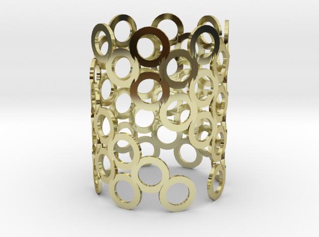 Geometric Candle Holder 3d printed