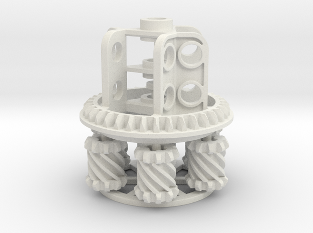 Torsen Diff 36 Z in White Natural Versatile Plastic