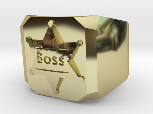 Mens Ring Boss 3d printed