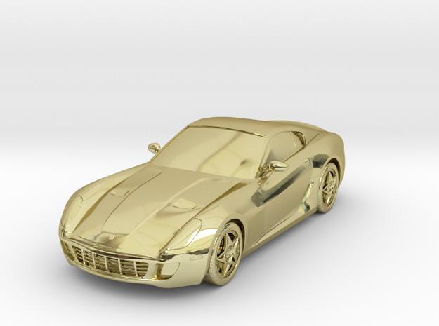 "Ferrari 599 GTB - 5"" 3d printed"