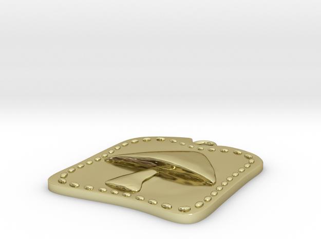 Mush Pendant 3d printed