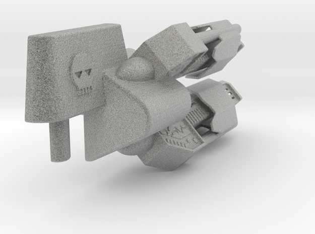 transformers Cyclone Cannon in Metallic Plastic