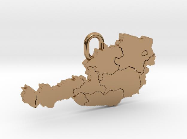 Austria Pendant in Polished Brass