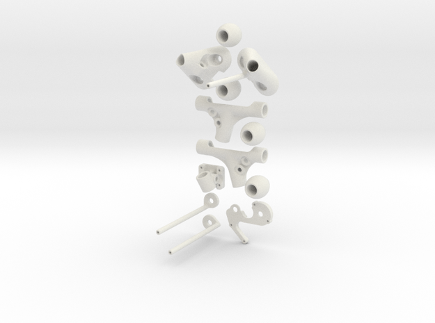 DJI Phantom Mark-1 Landing Gear 3d printed