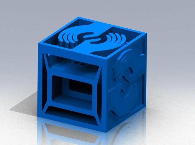 Sciencenter Cube 3d printed