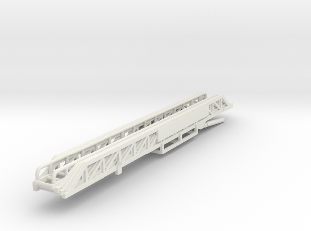 Vehicle-021-fire-truck-ladder (repaired) in White Natural Versatile Plastic