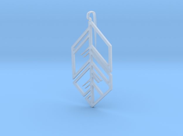 Ash Earring Right 3d printed