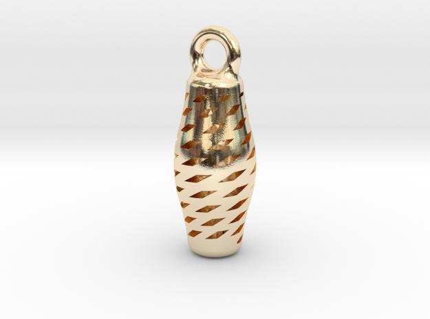 Turandot Earring in 14k Gold Plated