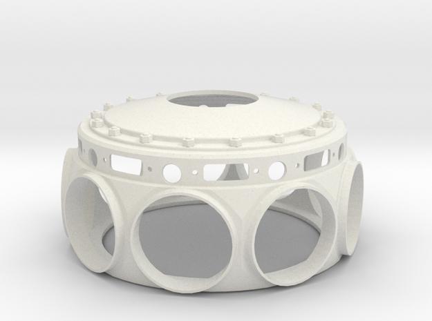 Le Rhone- 80hp - Crank Case - 1:4 Scale