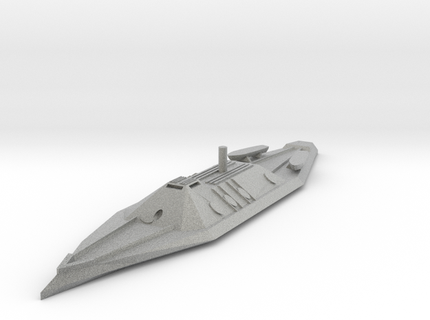 CSS Tennessee 1/600 3d printed