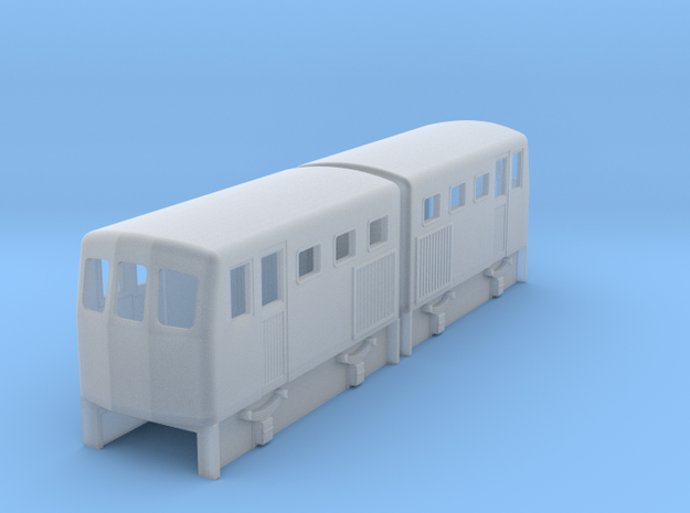 009 double diesel loco to fit 2 off Kato 103 3d printed