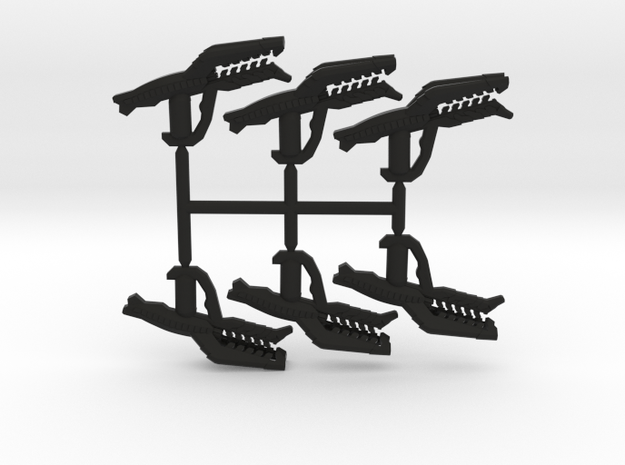 Drone Incinerator Pack  in Black Natural Versatile Plastic