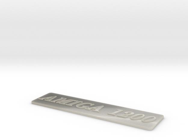 A1200 Case Badge Amiga 3d printed
