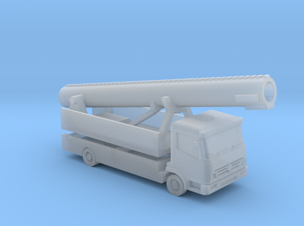 Showtruck 1,2 - 1:220 (Z scale) in Smooth Fine Detail Plastic