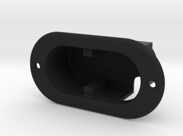 Harley Davidson Back Rest Actuator Housing in Black Natural Versatile Plastic
