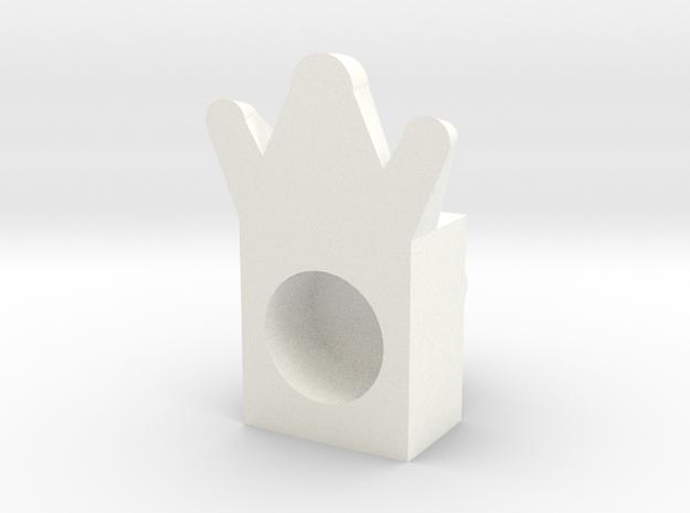 3foot in White Processed Versatile Plastic