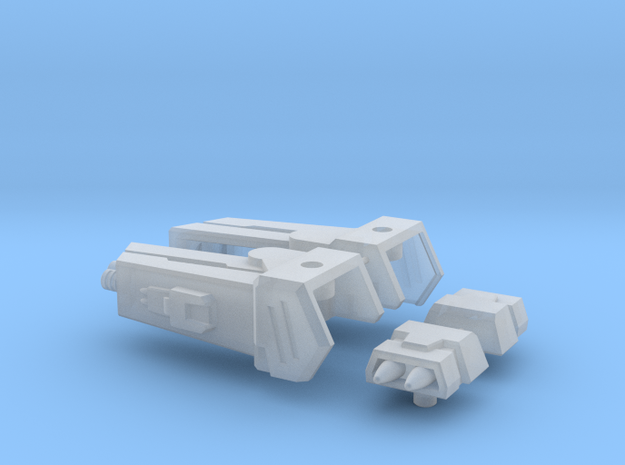 Enforcer Shoulder Cannons in Smooth Fine Detail Plastic